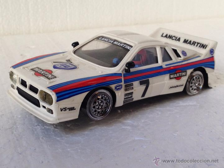 SCALEXTRIC LANCIA RALLYE 037 MARTINI REF 4073 4074 4076 (Juguetes - Slot Cars - Scalextric Exin)