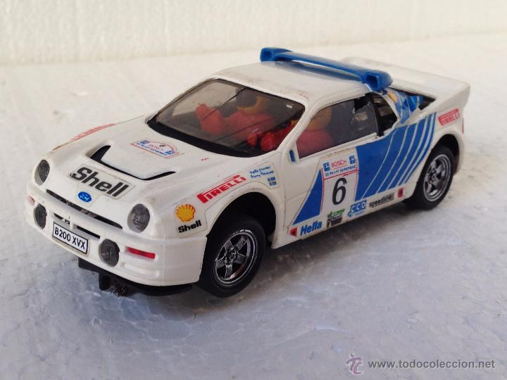 SCALEXTRIC FORD RS 200 (Juguetes - Slot Cars - Scalextric Exin)