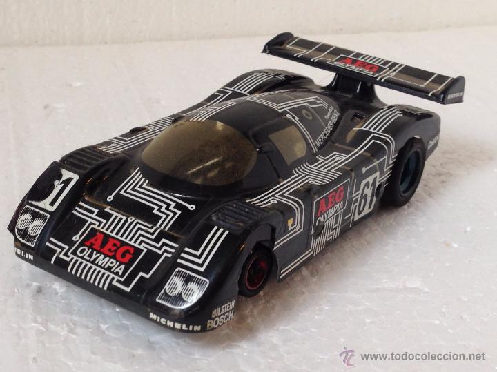 SCALEXTRIC MERCEDES AEG (Juguetes - Slot Cars - Scalextric Exin)