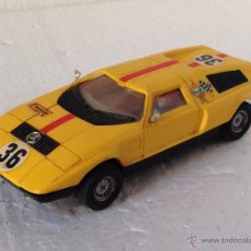 Scalextric: SCALEXTRIC MERCEDES C111 REF C44 COLOR AMARILLO. Lote 54536849