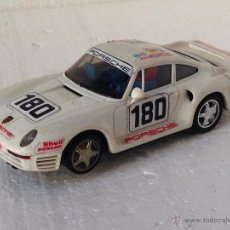 Scalextric: SCALEXTRIC PORSCHE 959 BLANCO. Lote 54537830