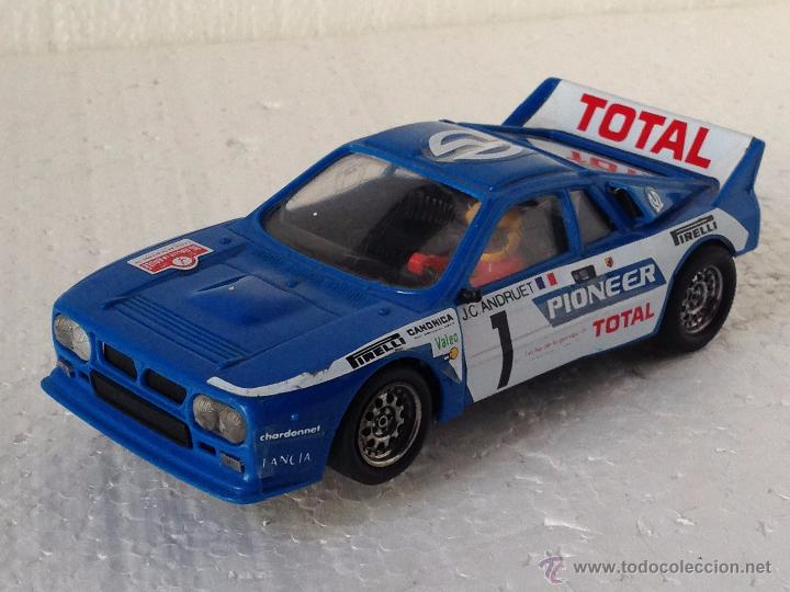 SCALEXTRIC LANCIA RALLYE 037 PIONEER (Juguetes - Slot Cars - Scalextric Exin)
