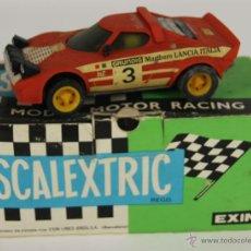 Scalextric: COCHE SCALEXTRIC. LANCIA STRATOS. REF. 4055. ROJO. 1977.. Lote 52632088