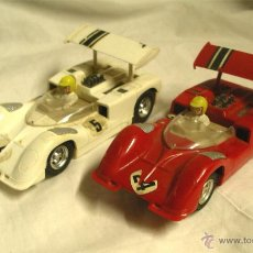 Scalextric: LOTE 2 COCHES CHAPARRAL GT REF C 40 DE EXIN SCALEXTRIC AÑOS 70. Lote 54923950