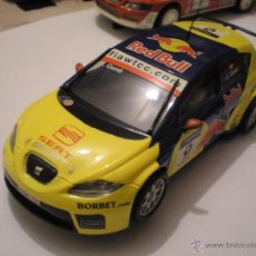 Scalextric: SCALEXTRIC SEAT LEON GENE REDBULL ALTAYA NUEVO. Lote 55086956
