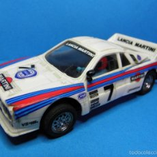 Scalextric: LANCIA RALLY 037 MARTINI DE EXIN SCALEXTRIC. Lote 55322950