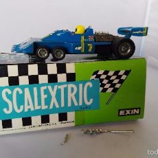 Scalextric: COCHE SCALEXTRIC EXIN FORD TYRRELL P 34 ORIGINAL AL 100%. Lote 56231840