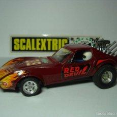 Scalextric: DRAGSTER CHEVROLET CORVETTE DE SCALEXTRIC EXIN 1,32. Lote 56365538