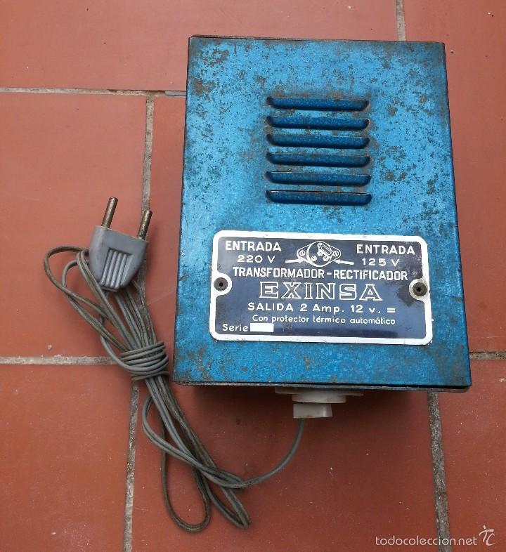 antiguo y raro transformador exinsa scalextric - Comprar Scalextric ...