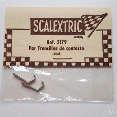 Scalextric: PAR DE TRENCILLAS DE CONTACTO REF. 5179 (4048) EN BLISTER DE EXIN. Lote 128139454