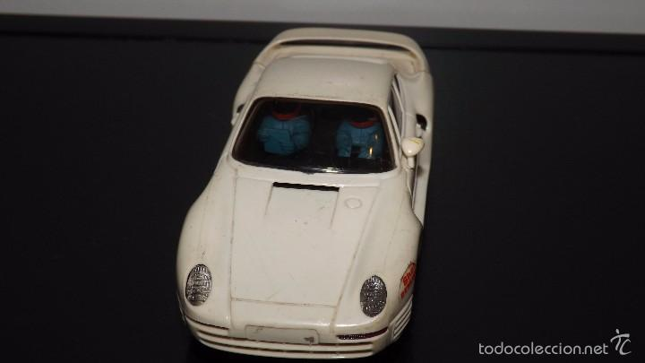 SCALEXTRIC: PORSCHE 959 BLANCO MADE IN SPAIN (Juguetes - Slot Cars - Scalextric Exin)