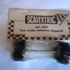 Scalextric: SCALEXTRIC EXIN TREN RUEDAS DELANTERO CHAPARRAL. Lote 56848436