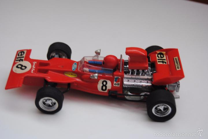COCHE TYRRELL FORD REF C-48 EXIN MADE IN SPAIN (Juguetes - Slot Cars - Scalextric Exin)