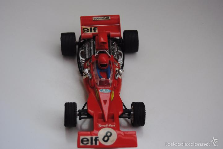 Scalextric: COCHE TYRRELL FORD REF C-48 EXIN MADE IN SPAIN - Foto 2 - 56977337