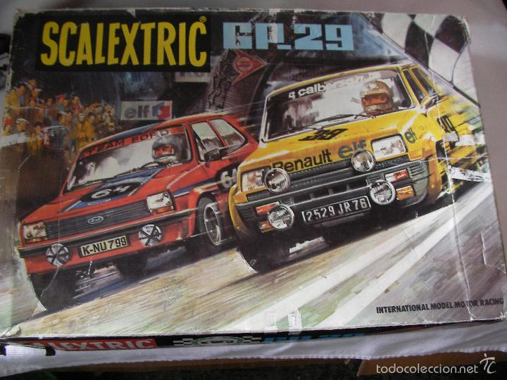 ANTIGUO CIRCUITO SCALEXTRIC EXIN GP-29 (Juguetes - Slot Cars - Scalextric Exin)