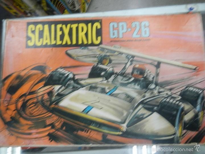 SCALEXTRIC EXIN CAJA VACIA CIRCUITO GP26 (Juguetes - Slot Cars - Scalextric Exin)
