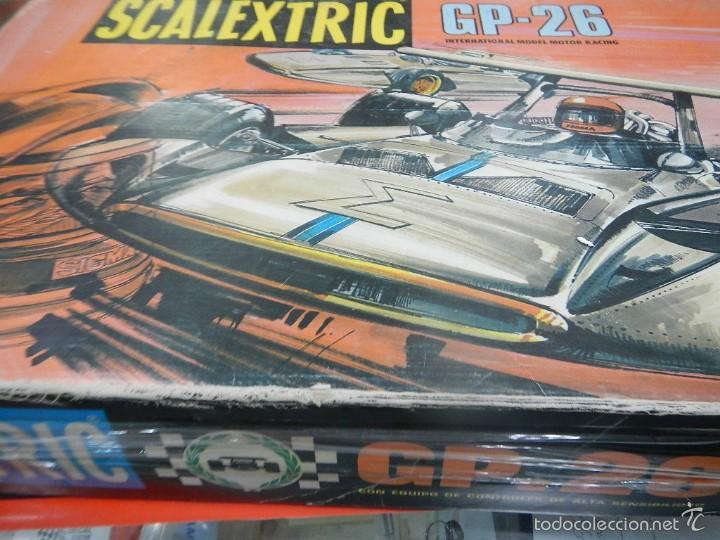 Scalextric: SCALEXTRIC EXIN CAJA VACIA CIRCUITO GP26 - Foto 2 - 57442793