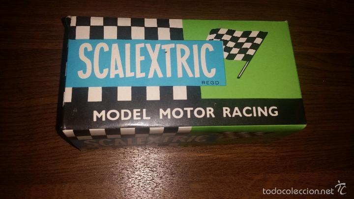 Scalextric: COCHE DE SCALEXTRIC EXIN LANCIA STRATOS REFERENCIA 4055 AMARILLO EN SU CAJA - Foto 2 - 58247598