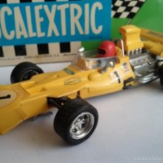Scalextric: SCALEXTRIC TYRRELL FORD AMARILLO COMPLETO. Lote 58982560