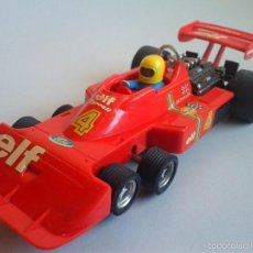 Scalextric: SCALEXTRIC TYRRELL P-34 F1 COMPLETO ROJO. Lote 57645380