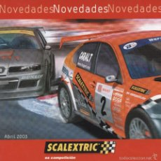 Scalextric: SCALEXTRIC NOVEDADES 2003. Lote 61359065