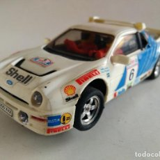 Scalextric: SCALEXTRIC EXIN FORD RS 200 SHELL. FUNCIONA. Lote 62120004