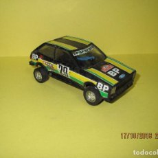 Scalextric: ANTIGUO FORD FIESTA BP DE SCALEXTRIC EXIN REF.4061 . Lote 95913476