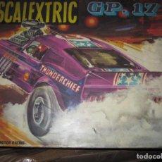 Scalextric: CAJA DE SCALEXTRIX GP 17 SIN COCHES. Lote 63539784