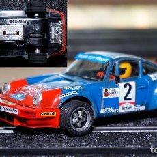 Scalextric: PORSCHE 911 JOCAVI EXIN+CARROCERIA 911 ROTHMANS DE ALTAYA NUEVA CON RETROVISORES. Lote 68991625