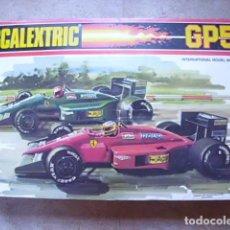 Scalextric: CIRCUITO SCALEXTRIC GP58 FERRARI F1/87 DE EXIN. FUNCIONANDO Y CAJA ORIGINAL. Lote 71940627