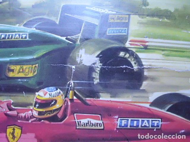 Scalextric: Circuito Scalextric GP58 Ferrari F1/87 de Exin. Funcionando y caja original - Foto 2 - 71940627