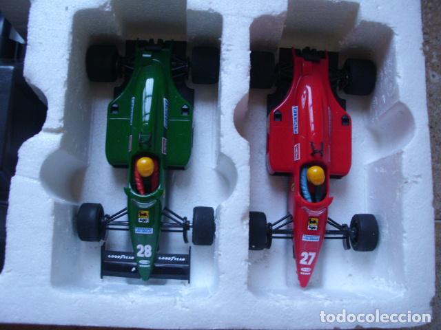 Scalextric: Circuito Scalextric GP58 Ferrari F1/87 de Exin. Funcionando y caja original - Foto 6 - 71940627
