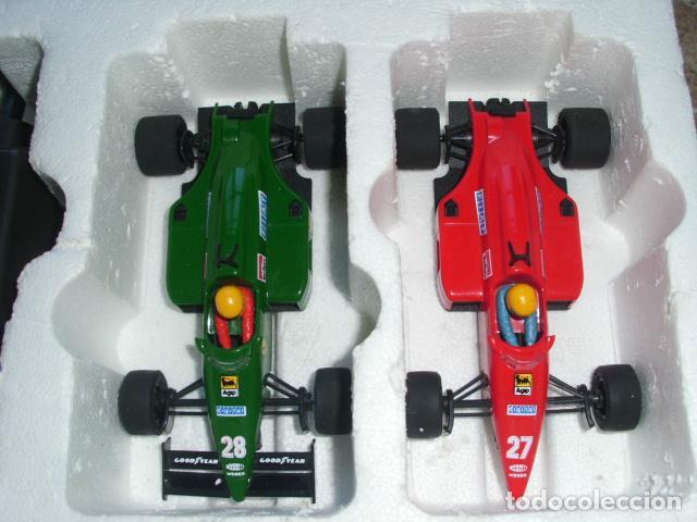 Scalextric: Circuito Scalextric GP58 Ferrari F1/87 de Exin. Funcionando y caja original - Foto 7 - 71940627