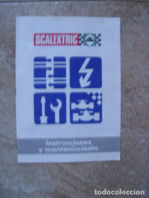 Scalextric: Circuito Scalextric GP58 Ferrari F1/87 de Exin. Funcionando y caja original - Foto 17 - 71940627