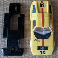 Scalextric: CARROCERIA Y CHASIS MERCEDES WANKEL SCALEXTRIC EXIN. Lote 74580941