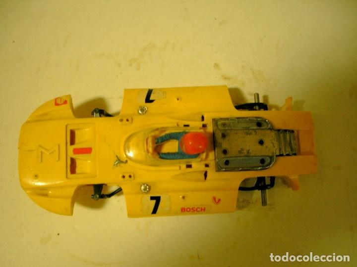 SCALEXTRIC EXIN CARROCERIA Y CHASIS SIGMA AMARILLO (Juguetes - Slot Cars - Scalextric Exin)