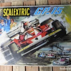 Scalextric: SCALEXTRIC GP15 CON COCHES Y PISTAS -. Lote 85347992