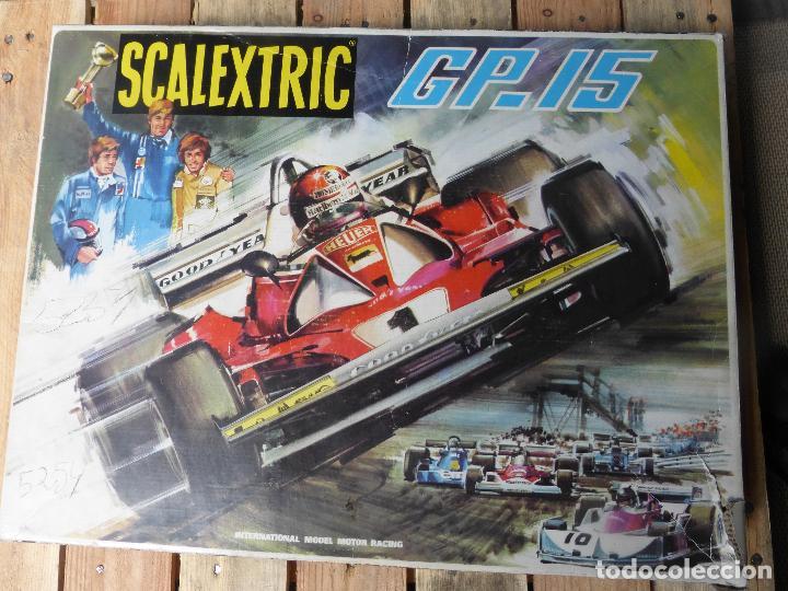 Scalextric: SCALEXTRIC GP15 CON COCHES Y PISTAS. - Foto 3 - 85347992