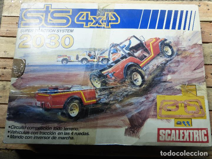 CAJA CIRCUITO SCALEXTRIC STS 4X4 2030 SUPER TRACTION (Juguetes - Slot Cars - Scalextric Exin)