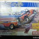 Scalextric: CAJA CIRCUITO SCALEXTRIC STS 4X4 2030 SUPER TRACTION. Lote 142167456