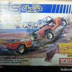 Scalextric: CAJA CIRCUITO SCALEXTRIC STS 4X4 2030 SUPER TRACTION -. Lote 142167456