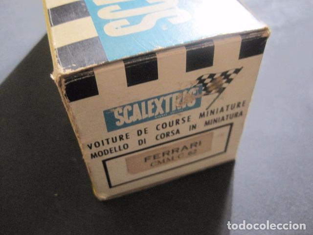Scalextric: FERRARI CMM C 62- SCALEXTRIC TRIANG -LINES FRERES FRANCE - CALAIS -CON CAJA - VER FOTOS - Foto 15 - 85421124