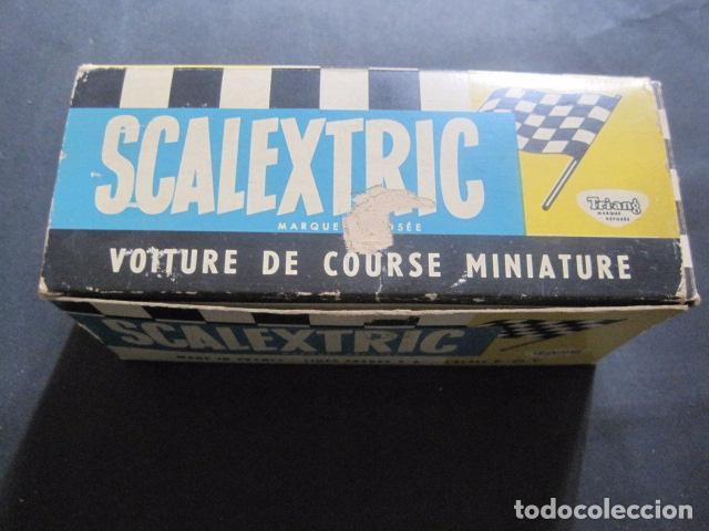 Scalextric: FERRARI CMM C 62- SCALEXTRIC TRIANG -LINES FRERES FRANCE - CALAIS -CON CAJA - VER FOTOS - Foto 16 - 85421124