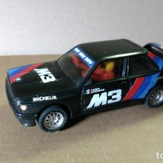 Scalextric: SCALEXTRIC EXIN BMW M3 NEGRO MADE SPAIN AÑOS 80. Lote 85530788