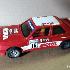 Scalextric: SCALEXTRIC EXIN BMW M3 ROJO MOTUL MADE SPAIN AÑOS 80. Lote 85532464