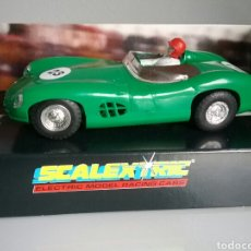 Scalextric: ASTON MARTIN DBR 1959 LE MANS, SCALEXTRIC SPECIAL ED.LTD.300 - C289 GREEN - SLOT CAR, MADE I ENGLAND. Lote 85783176