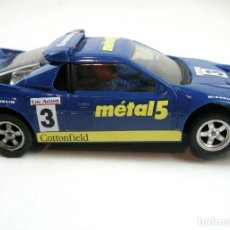 Scalextric: SCALEXTRIC EXIN FORD RS 200 METAL 5. CON LUCES. REF. 8342 - MADE IN SPAIN ( CON CAJA ). Lote 86359216