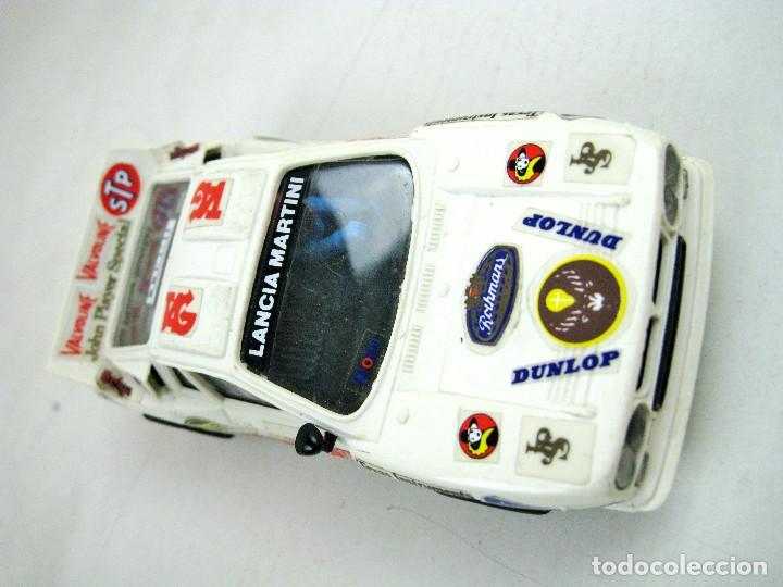 SCALEXTRIC EXIN LANCIA RALLY 037 REF. 4073 / 74 / 76 - SPAIN (TIENE LOS 2 ESPEJOS RETROVISORES) (Juguetes - Slot Cars - Scalextric Exin)