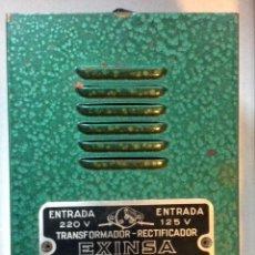 Scalextric: TRANSFORMADOR RECTIFICADOR EXINSA SCALECTRIC EXIN. Lote 86398712