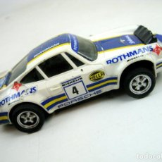 Scalextric: SCALEXTRIC EXIN PORSCHE CARRERA RS ROTHMANS REF. 4052 66 69 - MADE IN SPAIN. Lote 86983356